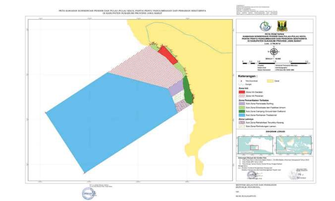 Peta Penetapan TP Pangumbahan Sukabumi